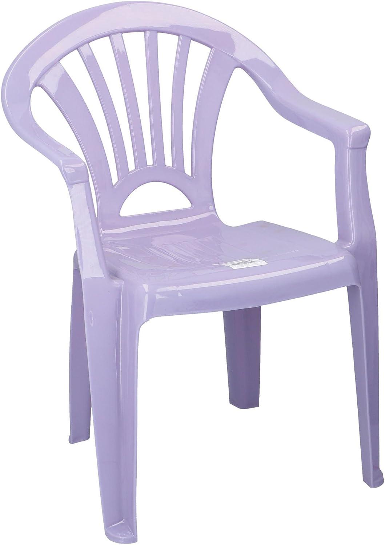 Chaise en plastique pour enfants Enfants Chaise Id/éal pour chambre denfant terrasse jardin