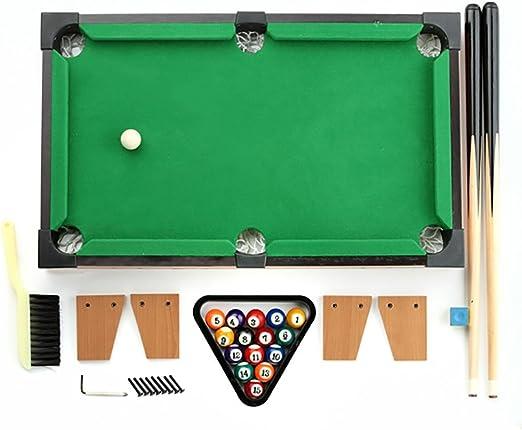 GUO Los mini juguetes de madera juegos de mesa de billar en casa ...