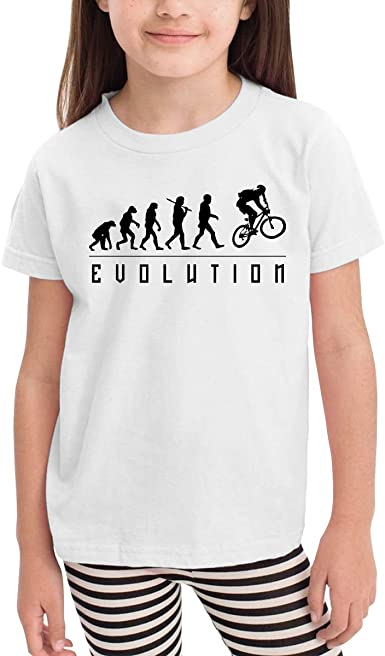 Motocross Evolution Cartoon Print Baby Boys Camiseta para Verano ...