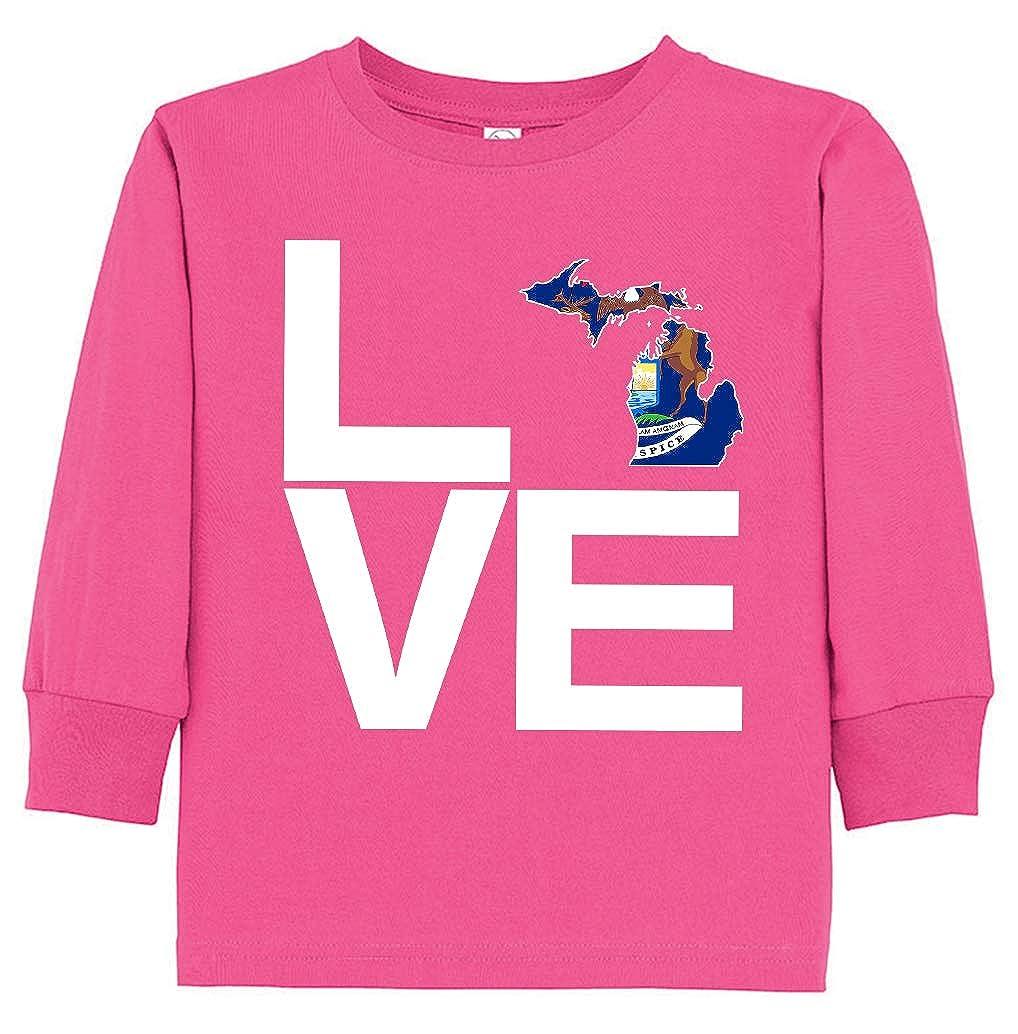 Tenacitee Babys Love Michigan Shirt