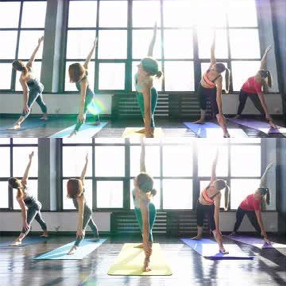 TPE Non Slip Pro Yoga Mats for Women and All Yoga Lovers Yoga Mat Pilates/&Floor Exercises