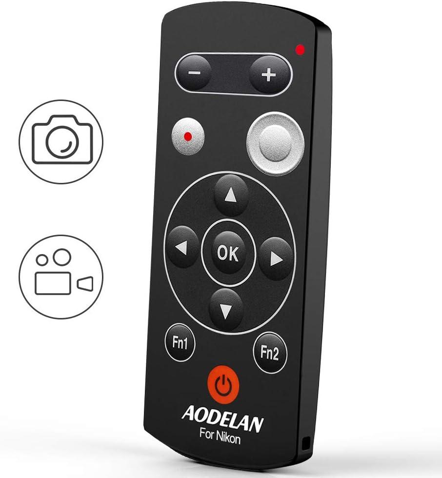 AODELAN - Mando a distancia inalámbrico para cámara Nikon COOLPIX P1000 P950 B600 A1000 Z50, sustituye a Nikon ML-L7