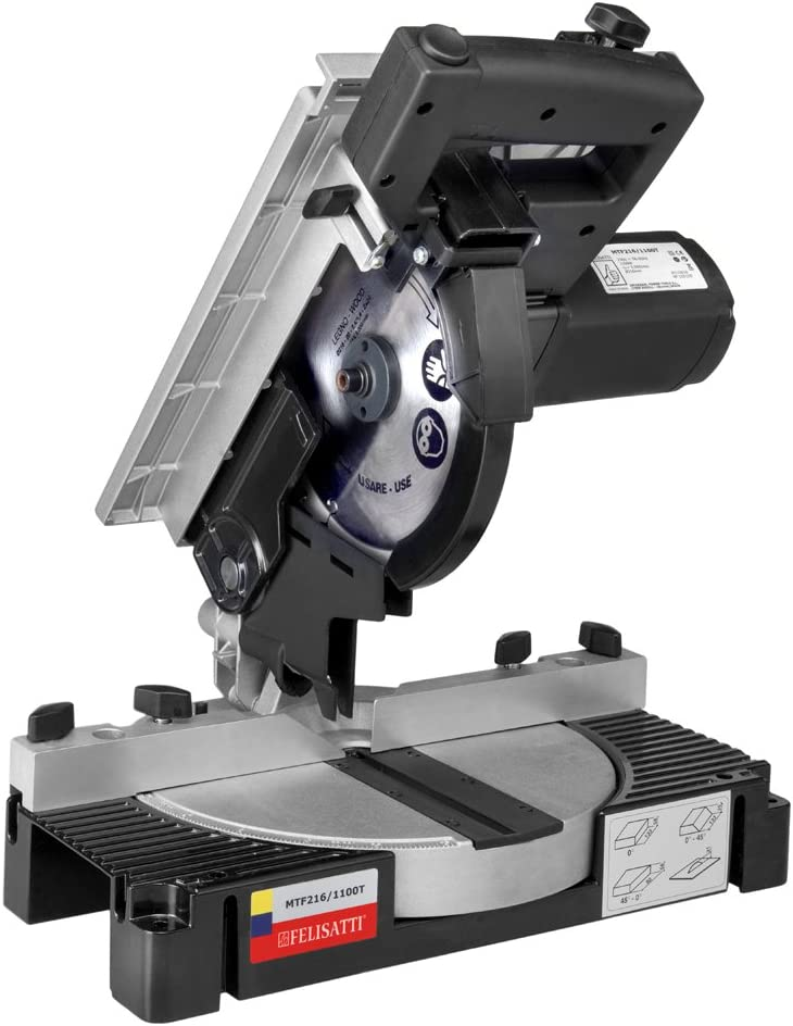 Felisatti 135470170 Ingletadora mesa superior (216 mm), 1100 W ...
