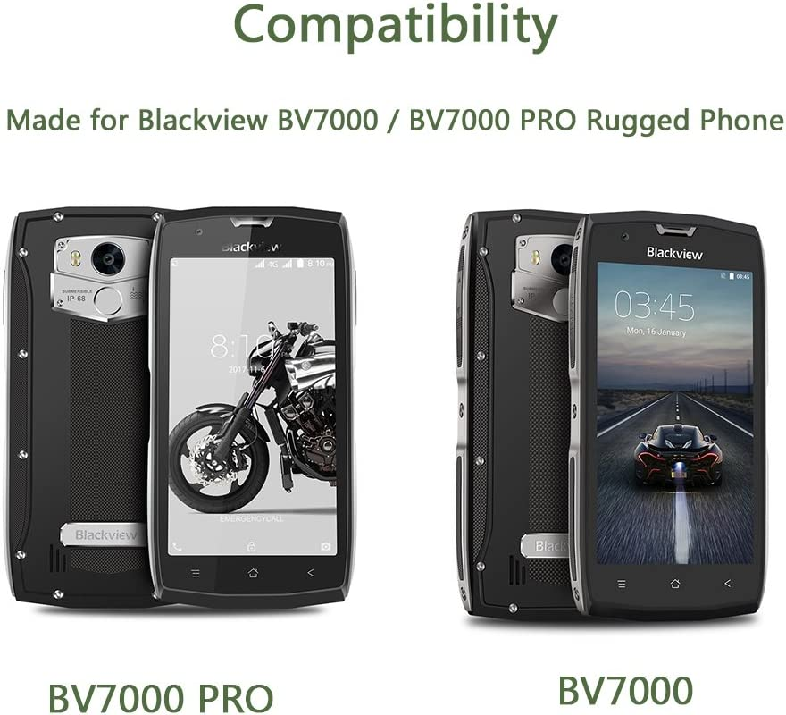BV7000 Cavo USB C Rivestito in Nylon Intrecciato BV6800 PRO Rugged Smartphone Lunasol Home 1M USB C Type C Cavo per Blackview BV7000 PRO