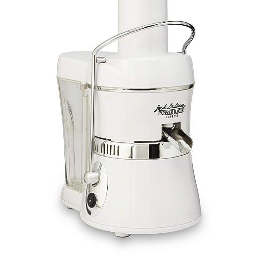 Jack LaLanne - Exprimidor eléctrico, color blanco: Amazon.es: Hogar