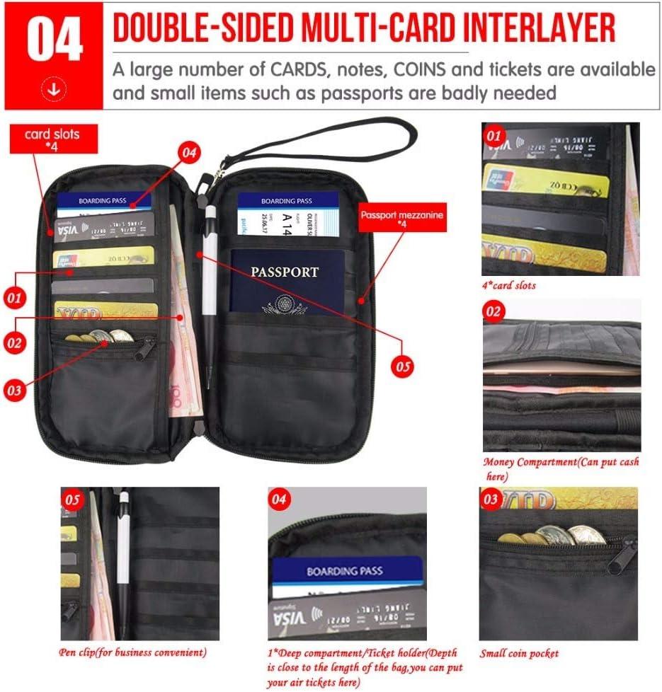 TZY Professional Travel Passport Passage Boys Purse Wallet Hand Holding Women Hanging Neck Ticket Shoulder Bag