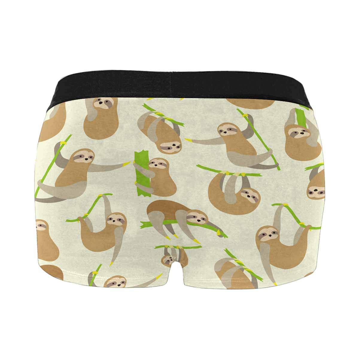 INTERESTPRINT Classic Mens Boxer Briefs