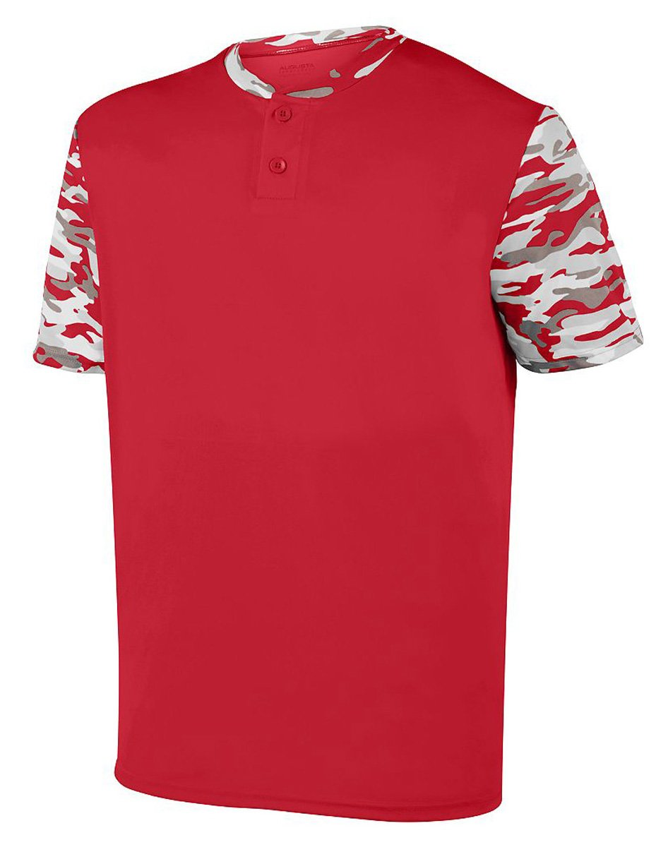 Augusta SportswearメンズPop Fly Jersey B01M4IEFB1 XLarge|Red/Red Mod Red/Red Mod XLarge
