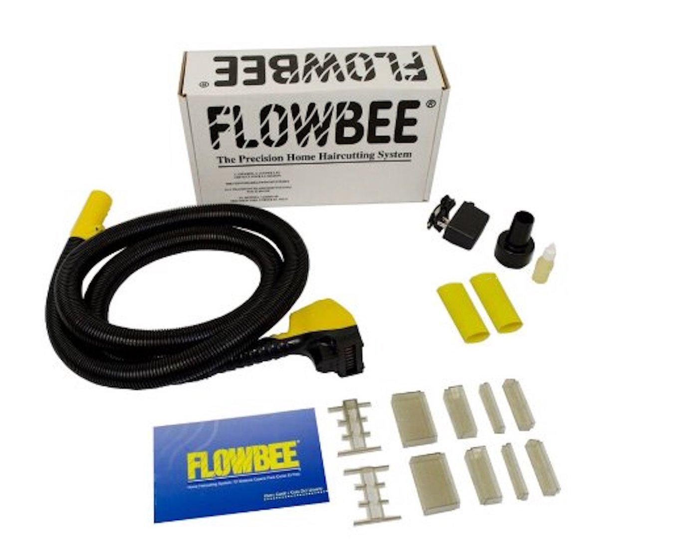 Flowbee Haircutting System with One Extra Vacuum Adapter (Flowbee+Rubber Vaccum Adapter)