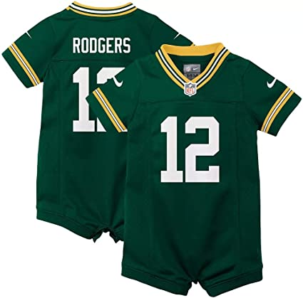 Aaron Rodgers Green Bay Packers Game Jersey