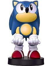 Cable Guy Sonic The Hedgehog de Sega, Soporte de sujeción o Carga para Mando de Consola y/o Smartphone de tu Personaje Favorito con Licencia Sega. Producto con Licencia Oficial. Exquisite Gaming