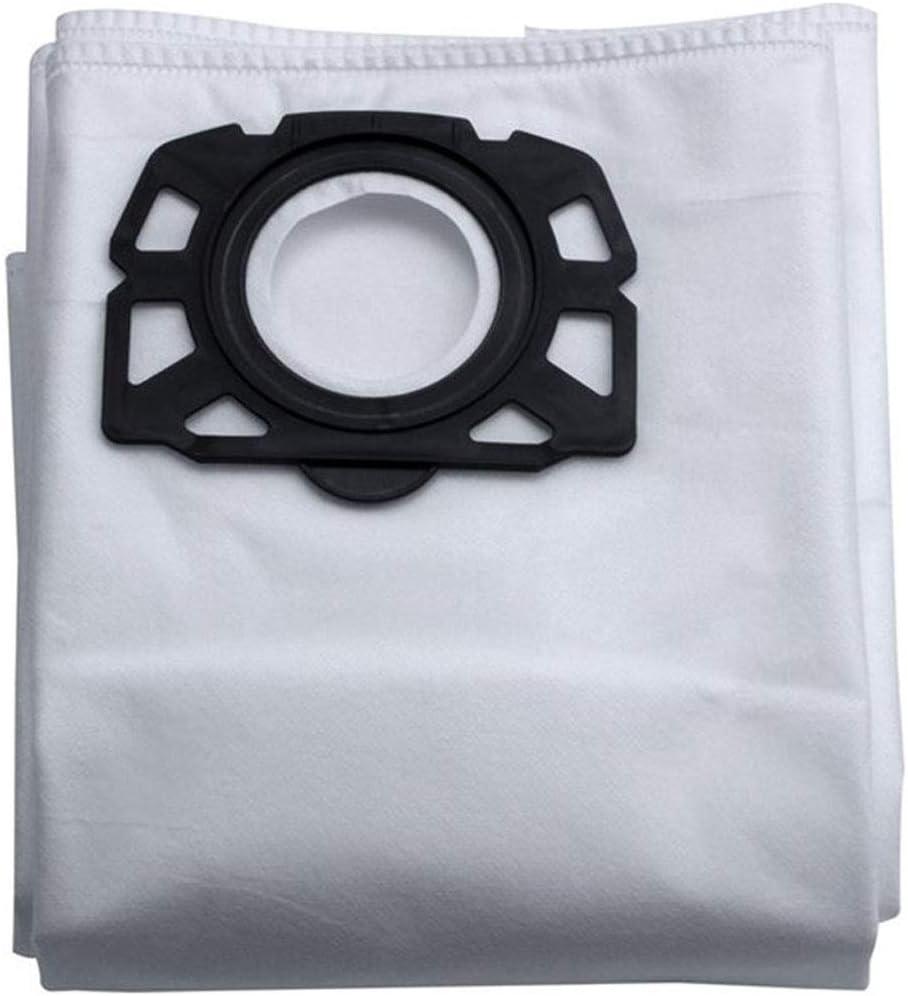 10 bolsas desechables para aspiradora de repuesto para Karcher MV4 MV5 MV6 WD4 WD5 WD6 por SHUXIN