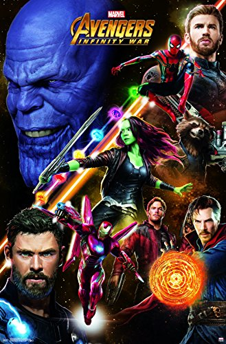 Trends International Avengers: Infinity War Challenge Wall P
