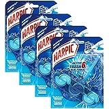 Harpic Bloc Cuvette Active Fresh Eau Bleue - Lot de 4