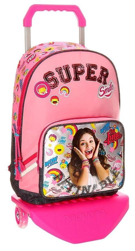 Disney 34723M1 Soy Luna Smile Mochila Escolar, 40 cm, 19.2 Litros, Multicolor