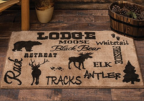 - Cabin Life Lodge Kitchen/Bath Rug
