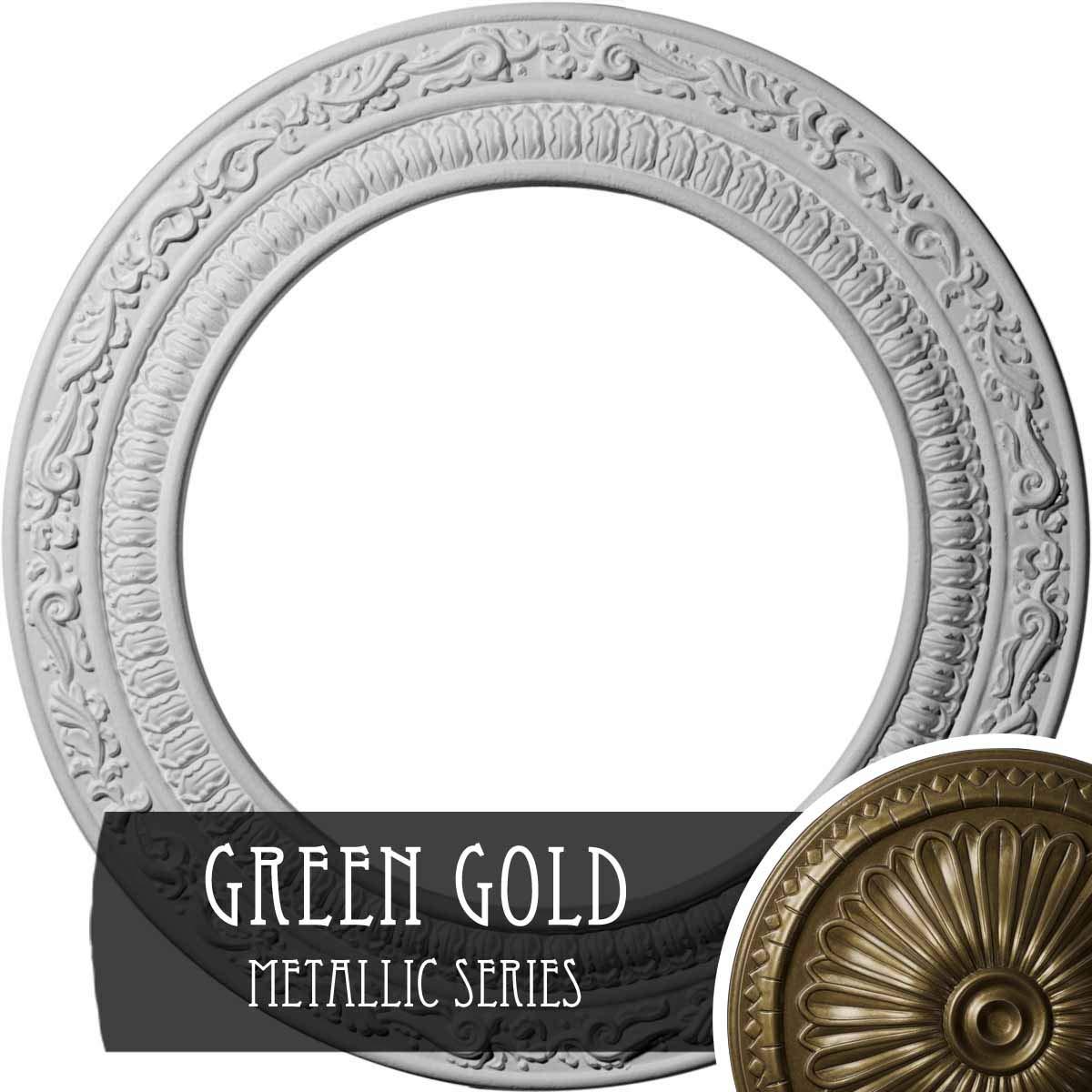 Ekena Millwork CM12AD Ceiling Medallion Primed
