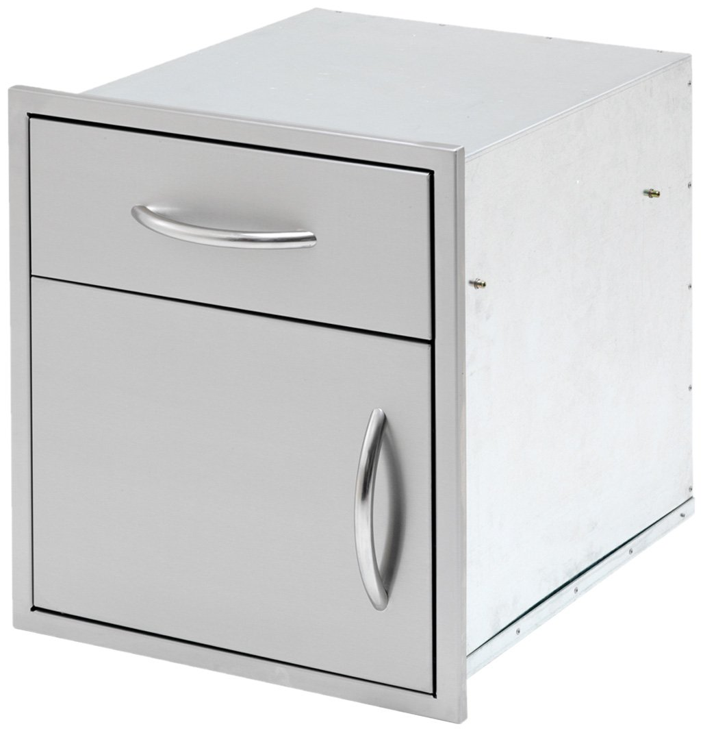 CalFlame BBQ11840P-18-A 18 Door and Drawer Combo
