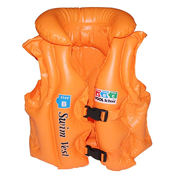 Vansoon Chaleco Inflable de la Piscina Chaleco de flotabilidad, Aprendizaje Seguro para Nadar Banco de Chaleco de natación,Anillo Chaleco de natación ...