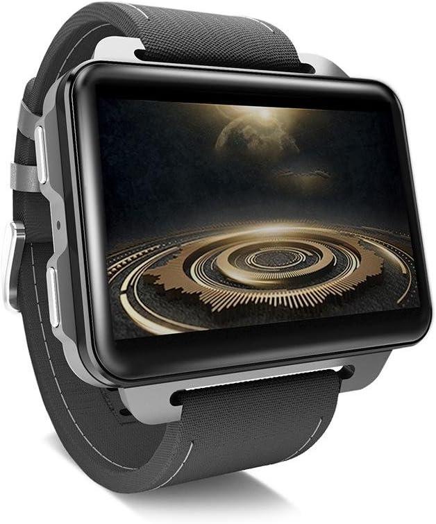 Reloj Inteligente para teléfonos Android, LEMFO LEM4 Pro Reloj Inteligente Android Soporte para teléfono Tarjeta SIM GPS MP4 Bluetooth WiFi Reloj Smartwatch Pantalla Grande Batería 1 GB + 16 GB Reloj