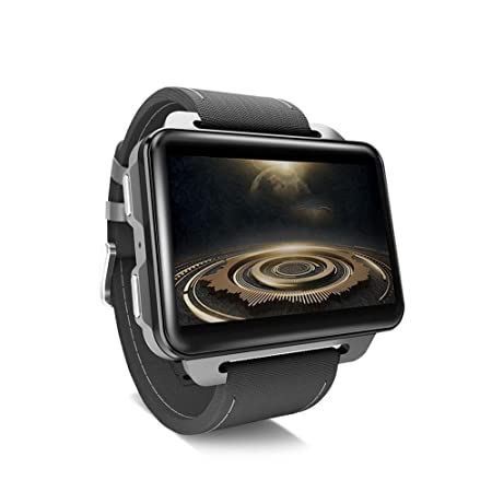gaeruite Bluetooth SmartWatch, LEMFO LEM4 Pro Android Smart Watch Teléfono Soporte Tarjeta SIM MP4 RAM 1GB + ROM 16GB Smartwatch