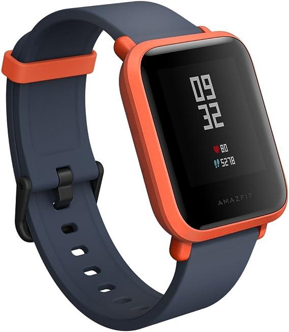 Amazon.com: Amazfit A1608R Bip Smartwatch (Cinnabar rojo)