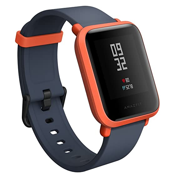 Amazfit A1608R Bip Smartwatch (Cinnabar red)
