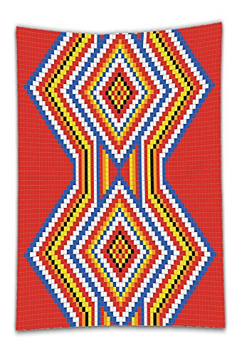Red Dwarf Costumes Sale (Beshowereb Fleece Throw Blanket Native American Decor Traditional Native American Style Mosaic Pattern Ethnic Image Print Bedroom Living Room Dorm Art Red Blue White.jpg)