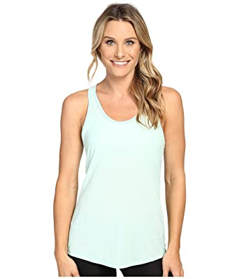aaa2ef3b8711ce Lucy Women s Workout Racerback Morning Mist Heather Tank Top XL at Amazon Women s  Clothing store