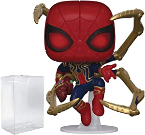Funko Marvel: Avengers Endgame - Iron Spider with Nano Gauntlet Pop! Vinyl Figure (Includes Compatible Pop Box Protector Case)