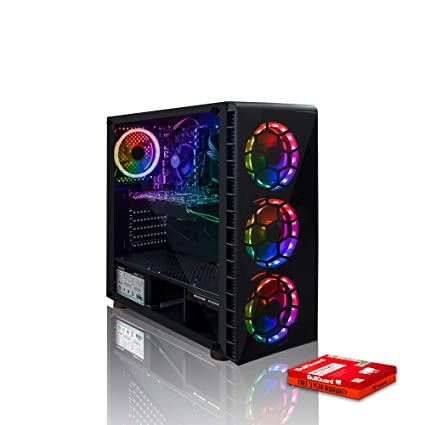 Fierce Phase High-End RGB Gaming PC - Fast 4 7GHz Hex-Core Intel Core i7  8700K, 1TB Hard Drive, 16GB 2666MHz, NVIDIA GeForce GTX 1060 6GB, Windows  10