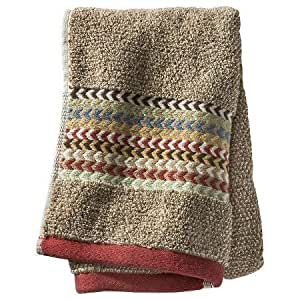Amazon Com New Geometric Bath Towels Brown Hand Towel