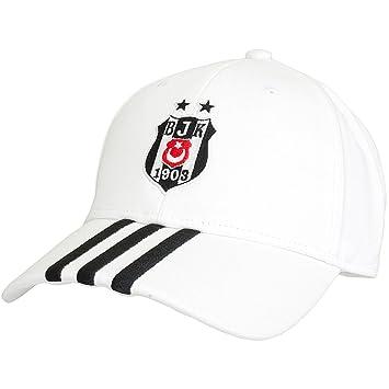 82b13129b8 adidas Casquette Besiktas d'Istanboul, Homme, Cap Besiktas Istanbul, Blanc