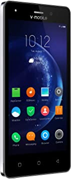 Moviles Libres Baratos 4G,V Mobile A10 5 Pulgadas 8GB ROM,2800mAh Batería,Dual Camara,Dual Sim,Android 7.0 Smartphone Libres,Oro: Amazon.es: Electrónica