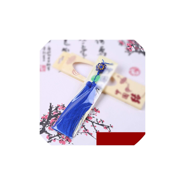 HKbeaty tassels 2 Pcs Tassel Chinese Tassel Craft Knot Tassel Pendant Crafts Home Decoration Ornaments Pendant,12 by HKbeaty tassels