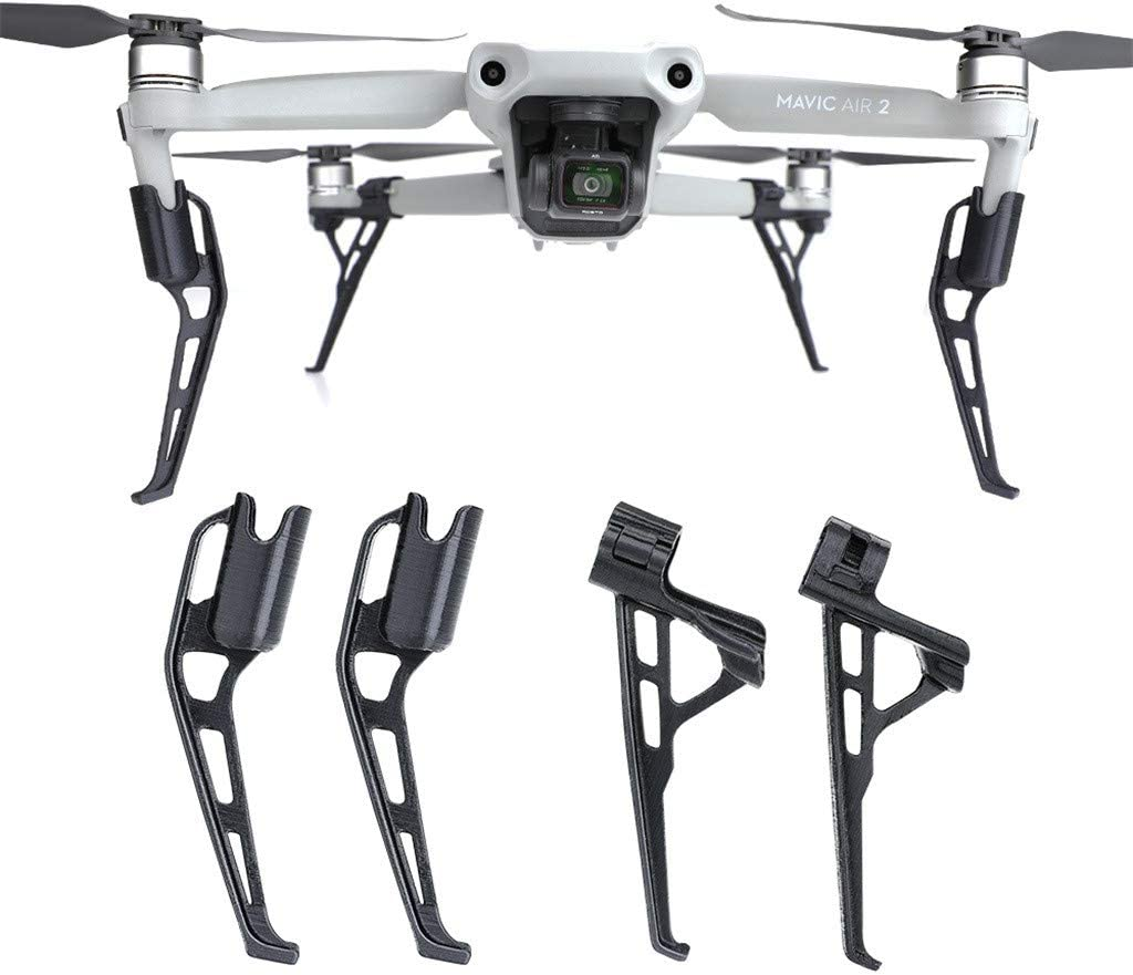XEDUO Heightened Tripod Landing Gear Protection for DJI Mavic Air 2 Drone Accessories