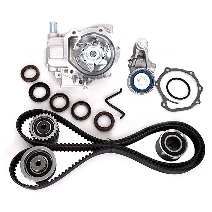 Amazon Com Engine Timing Belt Kit With Water Pump For Subaru