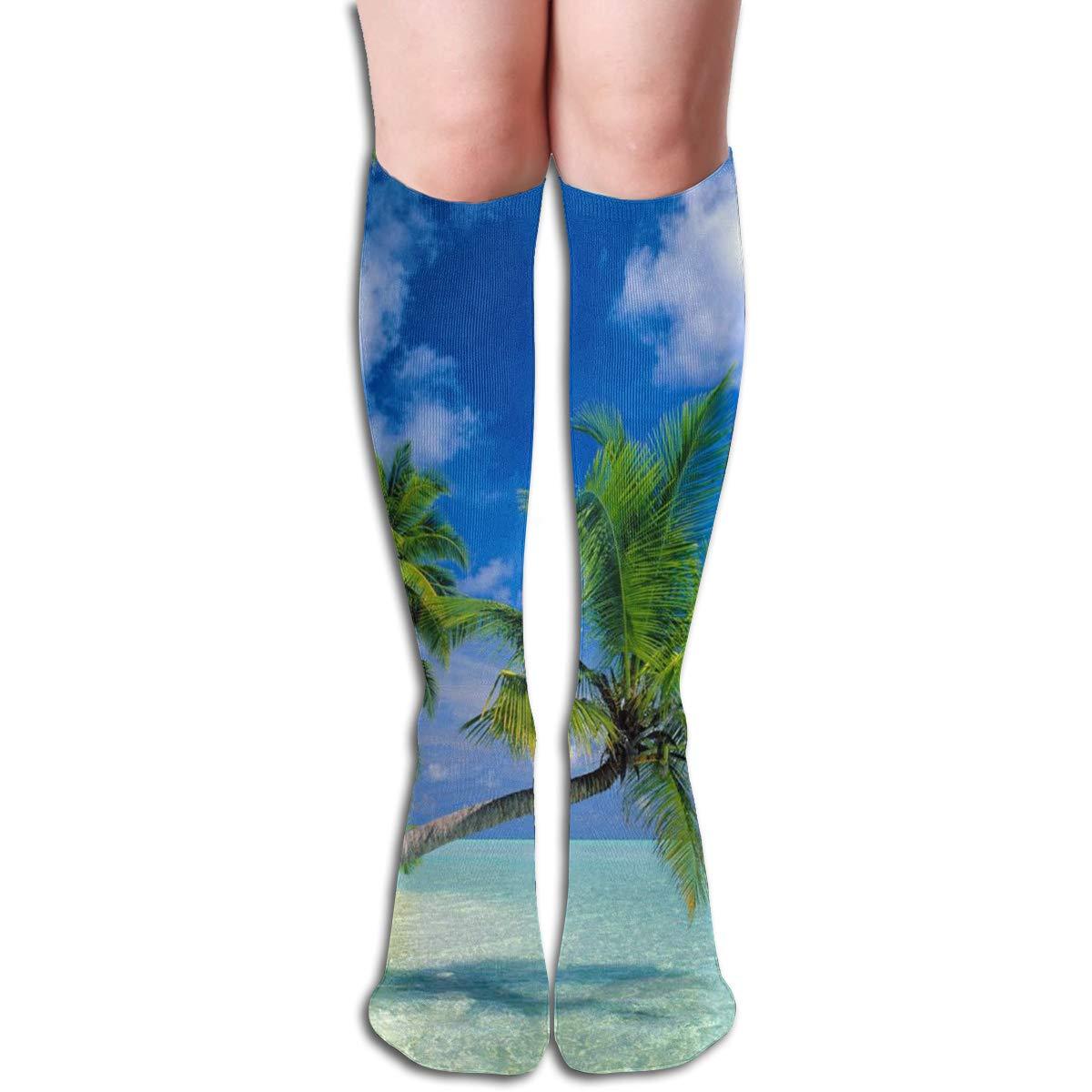 Women Socks Over Knee Flip Flop Seaside Winter Warmth Special For Decor