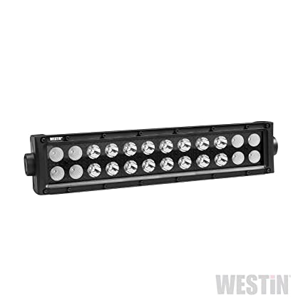 amazon com westin 09 12212 24c b force black face 12 inch double westin 09 12212 24c b force black face 12 inch double row led