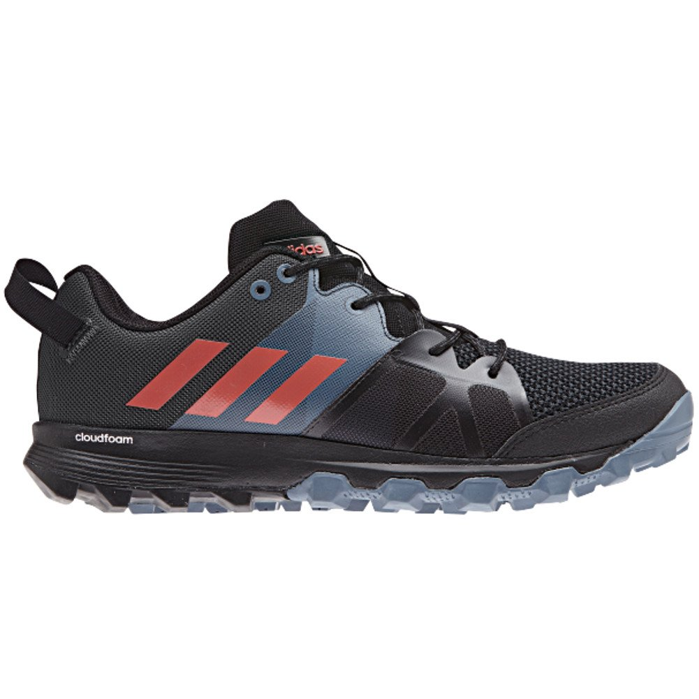 adidas outdoor Women's Kanadia 8.1 W Trail Running Shoe B072YWR7KP 7.5 M US|Black/Trace Scarlet/Carbon