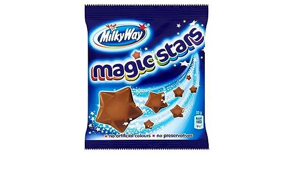 Milky Way - Magic Stars - Bolsita de chocolatinas - 33 g - Pack de 6 unidades: Amazon.es: Alimentación y bebidas