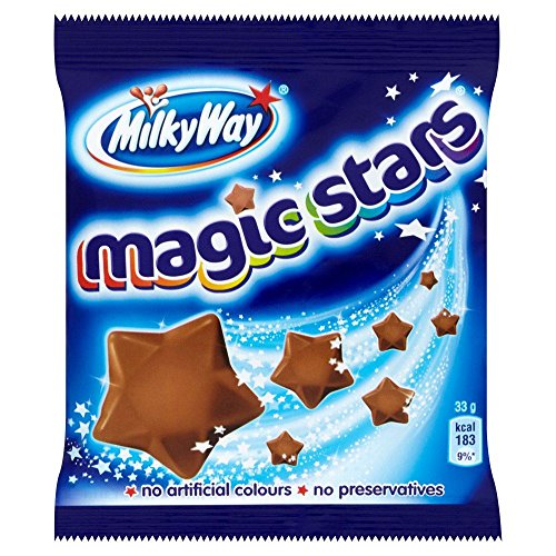 (Milky Way Magic Stars - 33g - Pack of 6 (33g x 6 Bags))