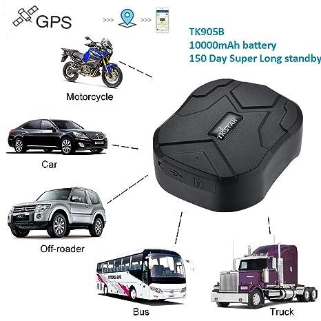 Hangang GPS Tracker TK905B Localizador GPS Coche 150 Días de ...