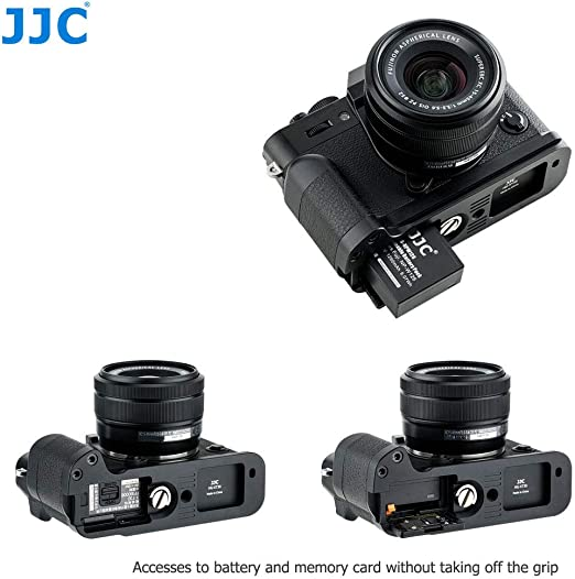 JJC Arca-Typ Kamera Handgriff f/ür Fujifilm X-T30 X-T20 X-T10 Digitalkamera Ersetzt Fuji MHG-XT10 Verbessern Sie das Handgef/ühl f/ür YouTube Vlog Videoaufnahme
