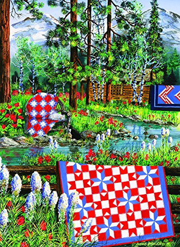 Summer Dream (Large Piece) 500 Piece Jigsaw Puzzle by SunsOut - Quilt Theme