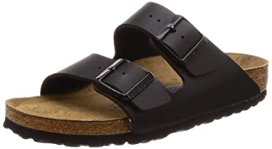 db4414de103 Image Unavailable. Image not available for. Color  Birkenstock Mens Arizona  Black ...