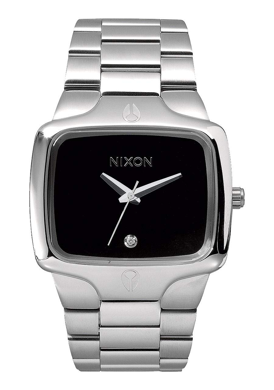 NIXON Player A140 - Black - 100m Water Resistant Men's Analog Fashion Watch (40mm Watch Face, 26.5mm-20mm Stainless Steel Band) by NIXON