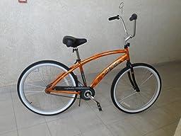 Amazon.com : Wald 870 Hi-Rise Cruiser Bike Handlebar (24.5-Inches Wide