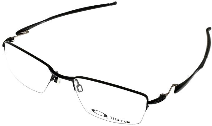 20663981796 Amazon.com  Oakley Wingfold 0.5 OX5101-0153 Satin Black Semi-Rimless ...