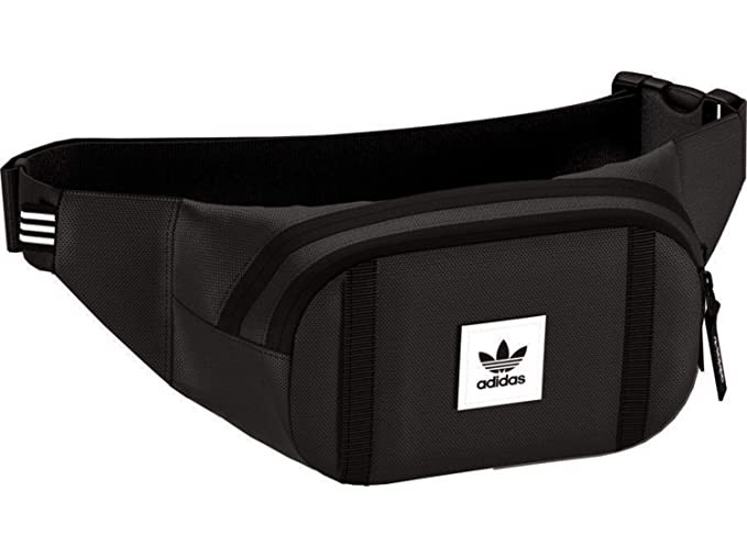 bcf9e6a3f4 Adidas Originals Prem Ess Cbody Bum Bag One Size Black  Amazon.com ...